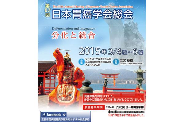 第87回日本胃癌学会総会
