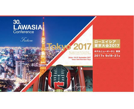 30th LAWASIA Conference – Tokyo2017